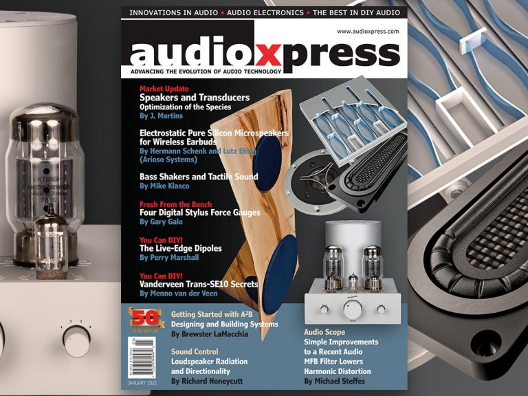 AudioXpress Cover January 2021