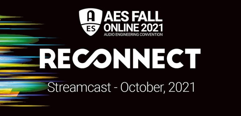 AES Fall Online 2021 Streamcast October 2021